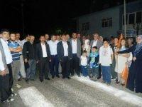 Doğanşehir'de seçim kutlamaları