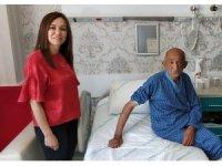 Sahipsiz hasta tedavisi sonrası huzurevine yerleştirildi