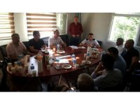 ASİMDER Başkanı Gülbey, ASP İl Müdürü Safa'yı ziyaret etti