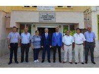 Vali Akın,  Kültür ve Turizm Müdürlüğünde incelemelerde bulundu
