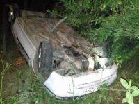 Bingöl'de otomobil şarampole yuvarlandı: 4 yaralı