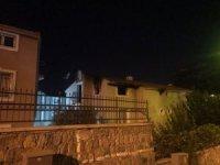 Kuşadası'nda villa yangını