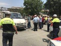 Iğdır'da Trafik kazası 1 yaralı