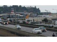 Trabzon'da yağmur kazaları beraberinde getirdi: 5 yaralı