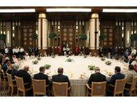 Cumhurbaşkanı Erdoğan şehit yakınları ve gazileri ağırladı