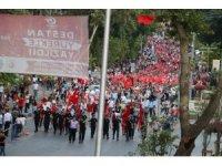 Kahramanmaraş'ta binler Demokrasi Meydanı'nda buluştu