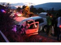 Bolu'da trafik kazası: 2 ölü, 6 yaralı