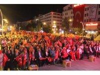 Binler 15 Temmuz ruhunu yaşatmak için bir araya geldi