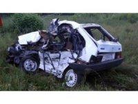 Tataristan'da tren otomobili ezdi: 4 ölü