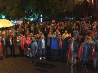 Ardahan'da Demokrasi Nöbeti ve Milli Birlik Yürüyüşü