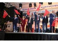 Kütahyalılar, 15 Temmuz'un ikinci yıl dönümünde Zafer Meydanı'nda buluştu