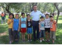 Nevşehir'de parklar güvenlik kameralarıyla takip ediliyor