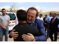 Vali Ali Hamza Pehlivan Şehit İdris Karakaşoğlu'nun ailesini ziyaret etti