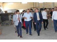 DİKA Genel Sekreteri OSB'deki fabrikaları gezdi
