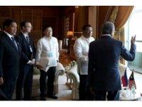 Duterte, Malezya Başbakanı Muhammed ile görüştü