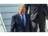 Putin, beklenen zirve için Helsinki'de