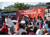 Başkan Tiryaki, 15 Temmuz Demokrasi ve Milli Birlik günü anma programına katıldı