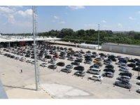 Akın akın geliyorlar: 24 saatte 36 bin yolcu, 7 bin 66 araç