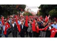 Isparta'da 15 Temmuz Şehitleri'ni Anma, Demokrasi ve Milli Birlik Günü Törenleri