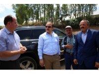 Vali Ali Hamza Pehlivan Yukarı ve Aşağı Pınarlı Köylerini ziyaret etti