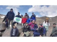20 dağcı, 4 bin 58 rakımlı Süphan Dağı'na tırmandı