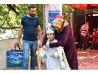 Ankara Büyükşehir Belediyesi 2 bin 18 çocuğu sünnet ettiriyor