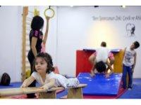 Bülent Ecevit Spor Tesisi'ne çocuk jimnastik salonu