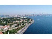 Restore edilmeye başlanan İstanbul surları havadan görüntülendi