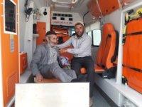 Çaldıran Belediyesinden ambulans hizmeti