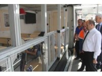 Deprem simülasyon tırı Bitlis'te