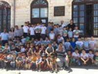 Kur'an Kursu öğrencilerine kütüphane tanıtıldı