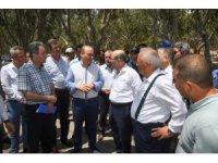 Vali Demirtaş Karataş'ta yapılan arıtma tesisini inceledi