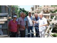 Verem Savaş Derneği camiye ek bina yaptırıyor