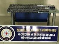 Zonguldak'ta 104 adet kaçak cep telefonu ele geçirildi