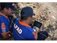 Muğla'da kayıp şahıs drone ile aranıyor