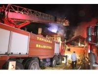 13 gün önce eşi ölen yaşlı vatandaşın evi de yandı