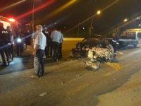 Başkent'te trafik kazası: 1 ölü, 4 yaralı