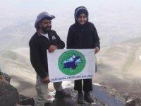 13 yaşındaki dağcı Süphan Dağı'na tırmandı