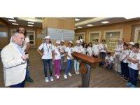 TTSO Özel İpekyolu Müzesi öğrencileri ağırladı
