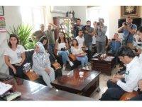 11 farklı ülkeden 60 yabancı gazeteci Tosya ilçesini ziyaret etti
