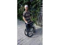 Vezirhan Belediyesi'nden tekerlekli sandalye yardımı