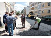 Fatih Mahallesi'nin sokakları yenileniyor