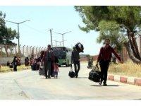 42 bin Suriyeli Türkiye'ye döndü