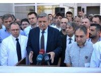"""HRÜ Rektörü Prof. Dr. Taşaltın: """"Saldırıları engellemek için tüm çabayı göstereceğiz"""""""
