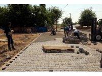 Lice'de kilitli parke çalışmaları aralıksız devam ediyor