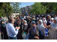 Korkuteli'nde 170 hacı adayı dualarla uğurlandı