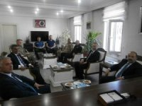 Vali Ustaoğlu ve Muş protokolünden Tatvan ziyareti