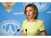 """Rusya Dışişleri Bakanlığı Sözcüsü Zakharova: """"Batı, Yunanistan'a baskı yapıyor"""""""