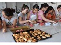 Kocasinan'da minik aşçılar yetişiyor