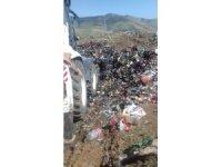 Saray Belediyesinden çöp toplama çalışması
